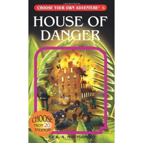 House of danger choose your own adventure english wooks for Choose your own home