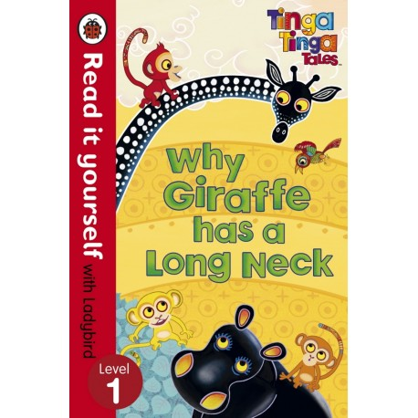 Why Giraffe has a Long Neck (ladybird level 1)