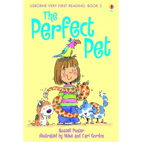 The Perfect Pet book 3 (usborne very first reading)