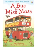 A Bus for Miss Moss Book 3 (usborne very first reading)