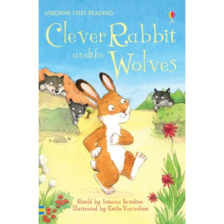 Clever Rabbit and the Wolves (usborne first reading)