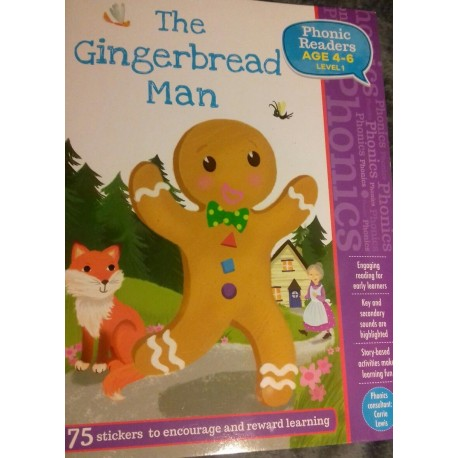 The Ginger Bread Man. Phonic Readers. 4-6 años.