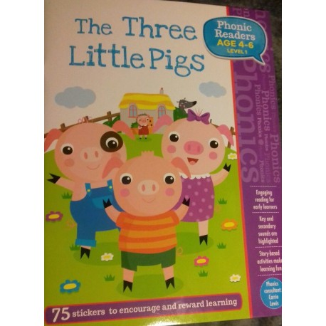 The Three Little Pigs. Phonic Readers. Level 1.
