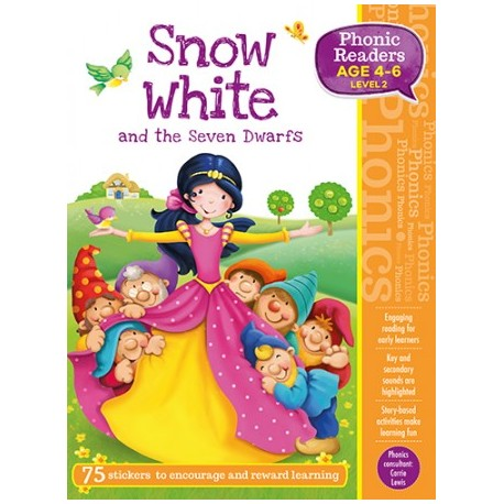 Snow White and the seven dwarfs. Phonic REaders. 4-6 años.