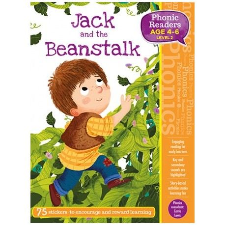 Jack and the Beanstalk. Phonic Readers. Level 2