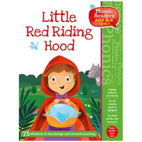 The Little Red Ridiing Hood. Phonic Readers. Level 3.